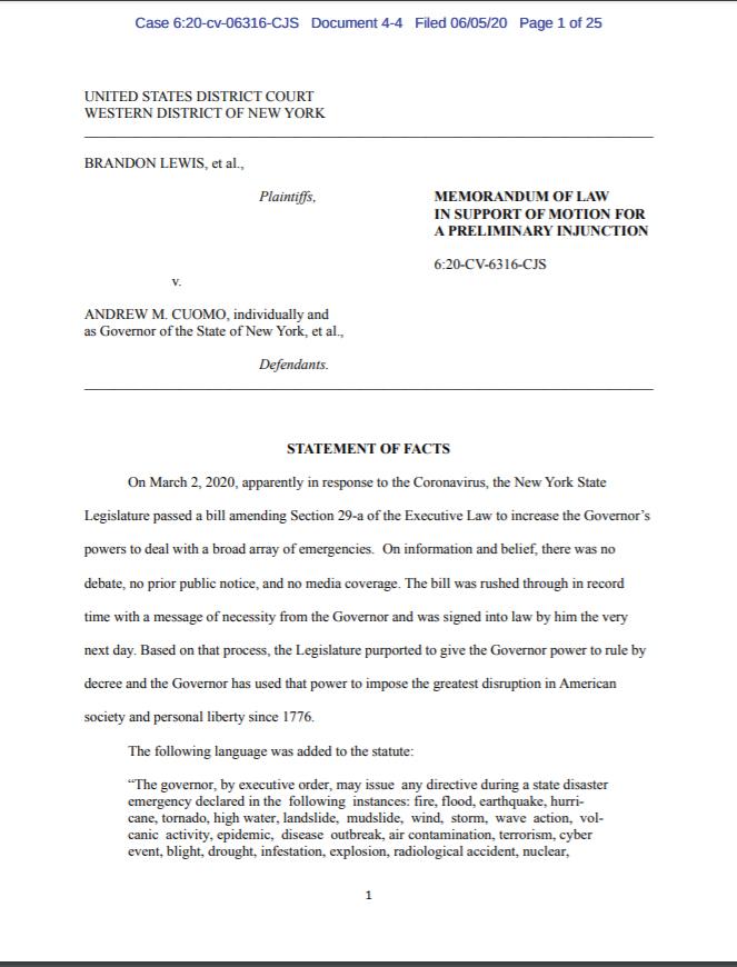 Injunction Motion