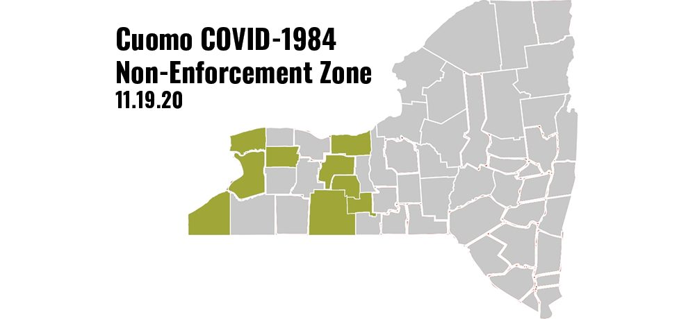 COVID-1984 Non-Enforcement
